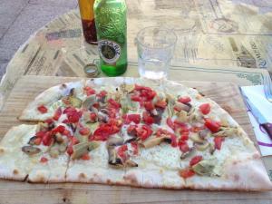 Pizza in Sarria
