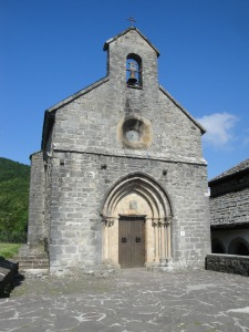 Small chapel in Roncesvalles